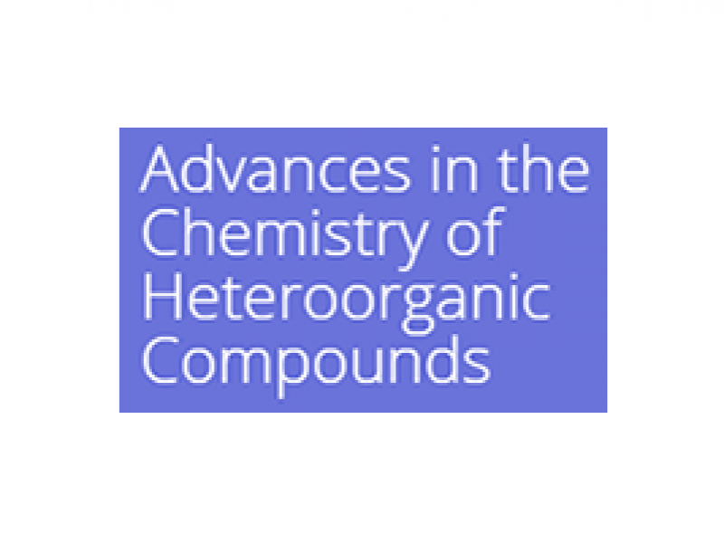 "XXII International Symposium ""Advances in the Chemistry of Heteroorganic Compounds"""