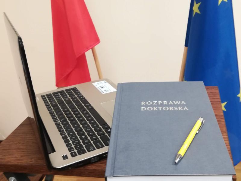 Obrona pracy doktorskiej mgr Damiana Mateusza Kaniowskiego